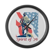 Spirit Of '76 Large Wall Clock
