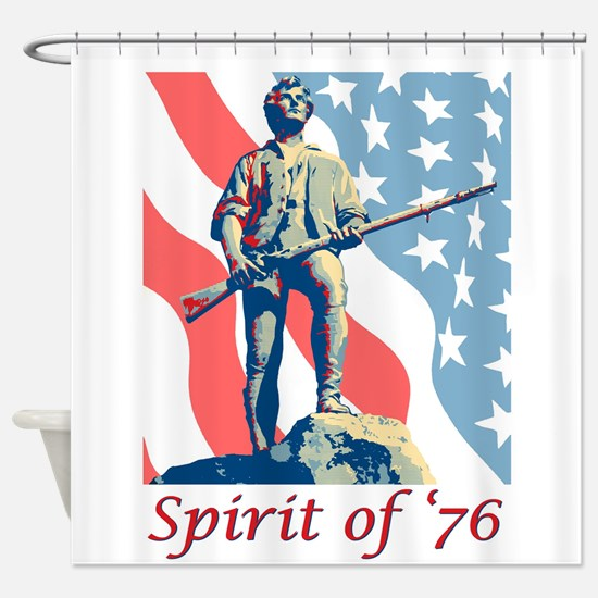 Spirit of '76 Shower Curtain