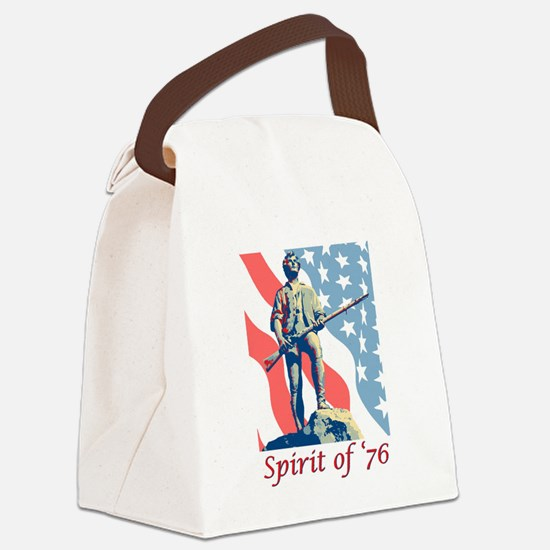 Spirit of '76 Canvas Lunch Bag