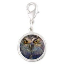Enchanted Silver Round Charm