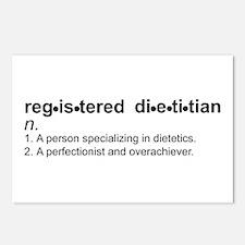 Registered Dietitian Postcards (Package of 8)