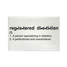 Registered Dietitian Rectangle Magnet (100 pack)
