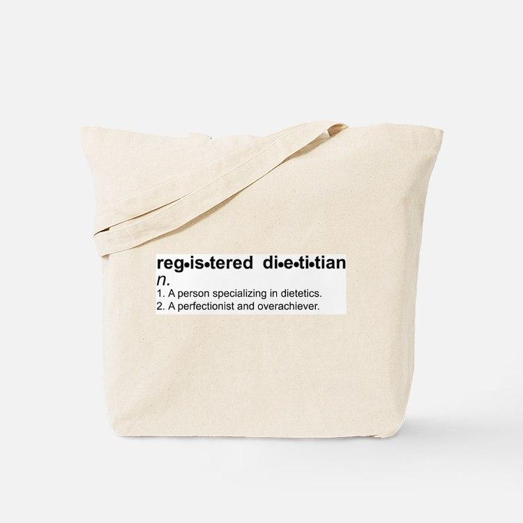 Registered Dietitian Tote Bag