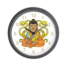 Buddha Flowing Energy Wall Clock
