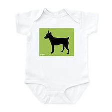 Rat Terrier iPet Infant Bodysuit