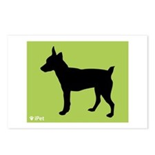 Rat Terrier iPet Postcards (Package of 8)