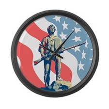 Patriot Large Wall Clock