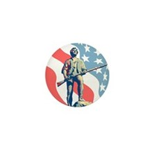 Patriot Mini Button (10 pack)