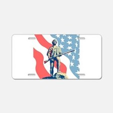 Patriot Aluminum License Plate
