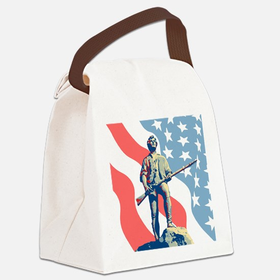 Patriot Canvas Lunch Bag
