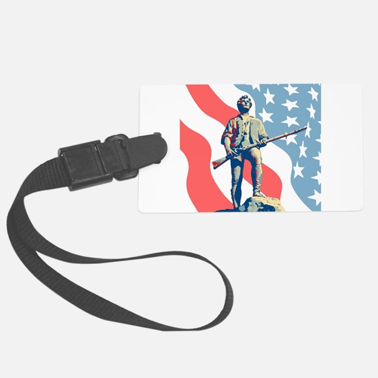Patriot Luggage Tag