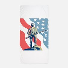 Patriot Beach Towel