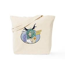Fearless Dawn EYES UP HERE Tote Bag