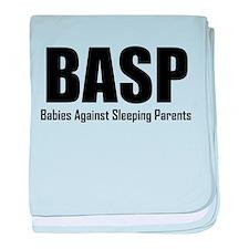 BASP Babies Against Sleeping Parents baby blanket