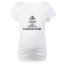 Keep Calm and Love a Radiographer Shirt