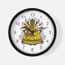 Medicine Buddha Wall Clock