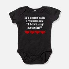 I Love My Cousin Baby Bodysuit