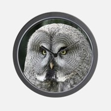 Owl001 Wall Clock