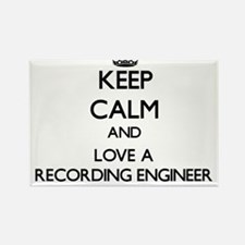 Keep Calm and Love a Recording Engineer Magnets