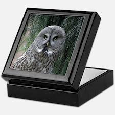 Owl002 Keepsake Box