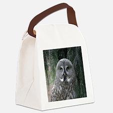 Owl002 Canvas Lunch Bag