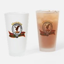 Monroe Clan Drinking Glass