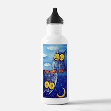Night & Day Owls Water Bottle
