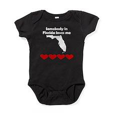 Somebody in Florida Loves Me Baby Bodysuit