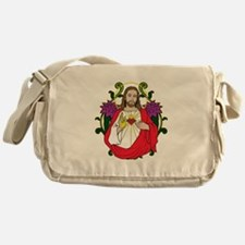 Sacred Heart Jesus Christ Messenger Bag