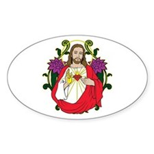 Sacred Heart Jesus Christ Decal