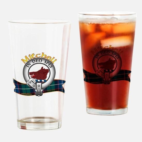 Mitchell Clan Drinking Glass