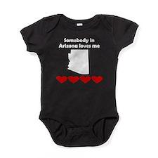 Somebody in Arizona Loves Me Baby Bodysuit
