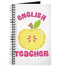 English Teacher apple Journal
