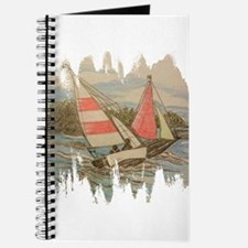 Hand Drawn Sailboats Journal