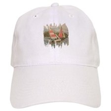Hand Drawn Sailboats Baseball Baseball Cap