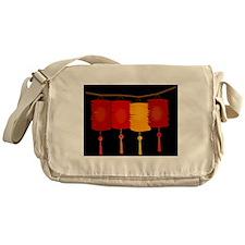 paper lanterns Messenger Bag