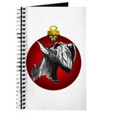 giant schnauzer holiday Journal