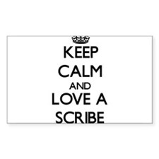 Keep Calm and Love a Scribe Decal