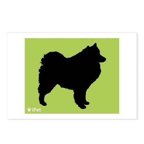 Samoyed iPet Postcards (Package of 8)