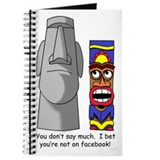 Tiki Wants To Know, Is Easter Island On FB? Journa