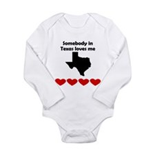 Somebody in Texas Loves Me Body Suit
