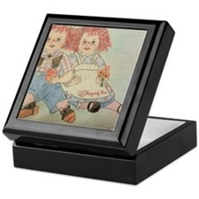 Raggedy Anne and Andy Keepsake Box