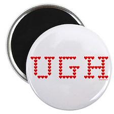 """UGH Valentine Hearts 2.25"""" Magnet (10 pack)"""