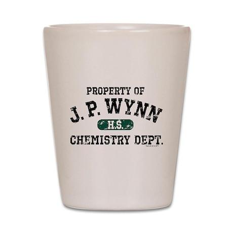 JP Wynn Chemistry Dept Shot Glass