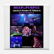 Deep In Purple Tile Coaster