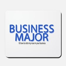Business Major Mousepad