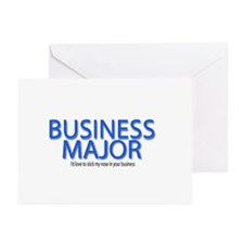 Business Major Greeting Cards (Pk of 10)