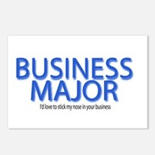 Business Major Postcards (Package of 8)
