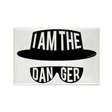I am the Danger Rectangle Magnet