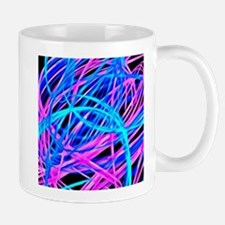 neon light show, blue Mugs